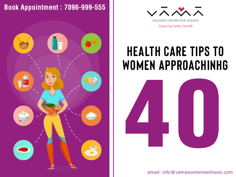 Health Care Tips to Women Approaching 40